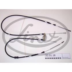 Tažné lanko parkovací brzdy OPEL ASTRA F 522603