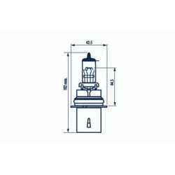 žárovka HB1 65/45W 12V HB1