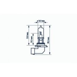 žárovka HB3 60W 12V HB3