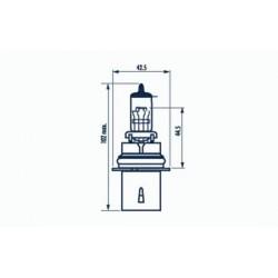žárovka HB5 65/55W 12V HB5