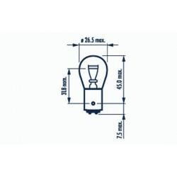 žárovka P21/4W 12V P21/4W