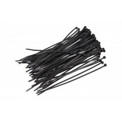 Upínací spona 4X200 (1 BALENÍ 100 KUSŮ) Černá