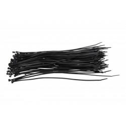 Upínací spona 4X300 (1 BALENÍ 100 KUSŮ) Černá